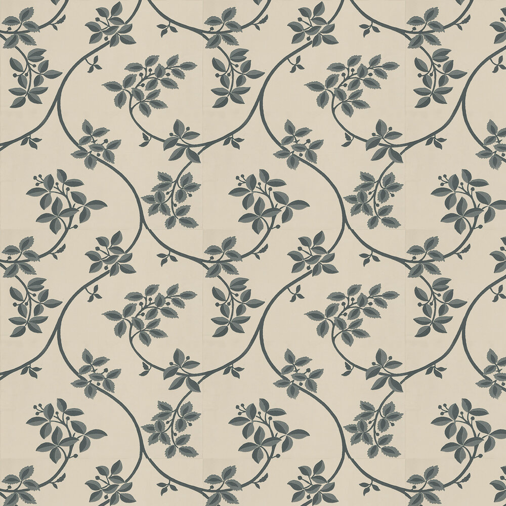 Farrow & Ball Ringwold Charcoal / Soft Beige Wallpaper - Product code: BP 1616