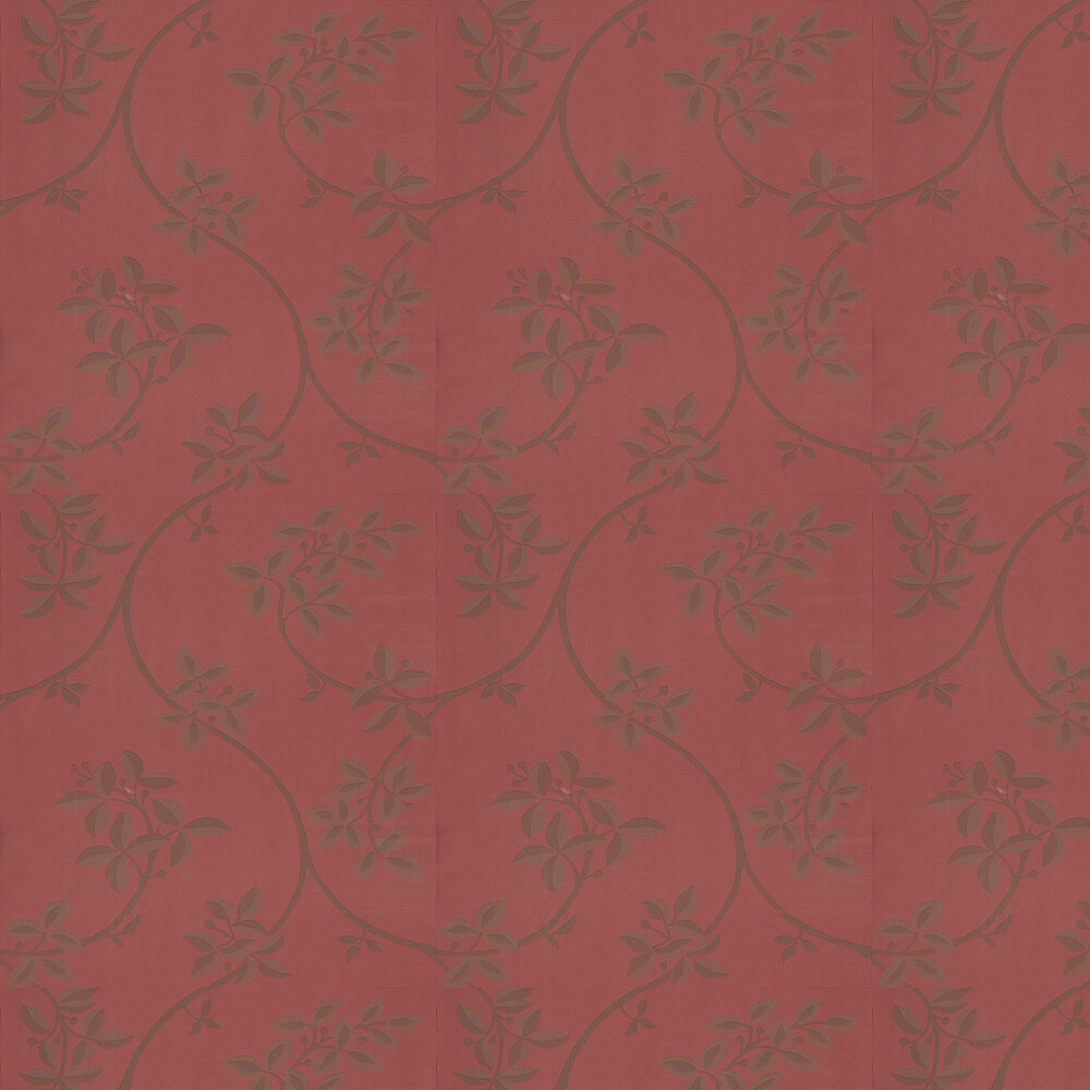 Ringwold Wallpaper - Deep Red - by Farrow & Ball