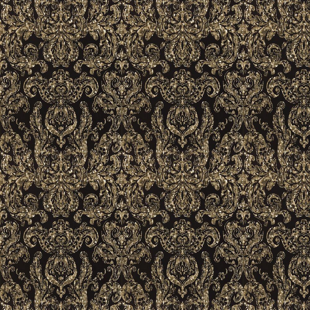 Zoffany Brocatello Briolette Bronze / Black Wallpaper - Product code: 310988