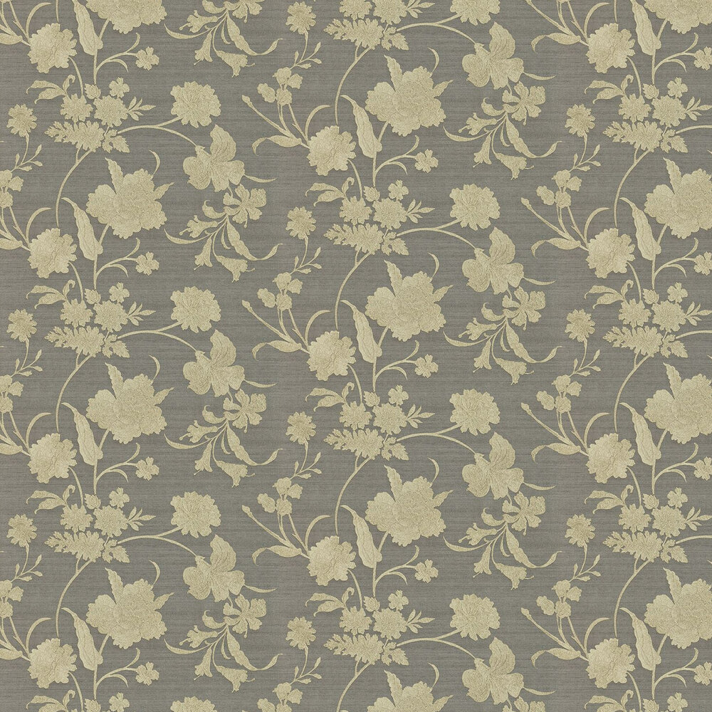 Zoffany Cordonnet  Gold / Charcoal Wallpaper - Product code: 311006