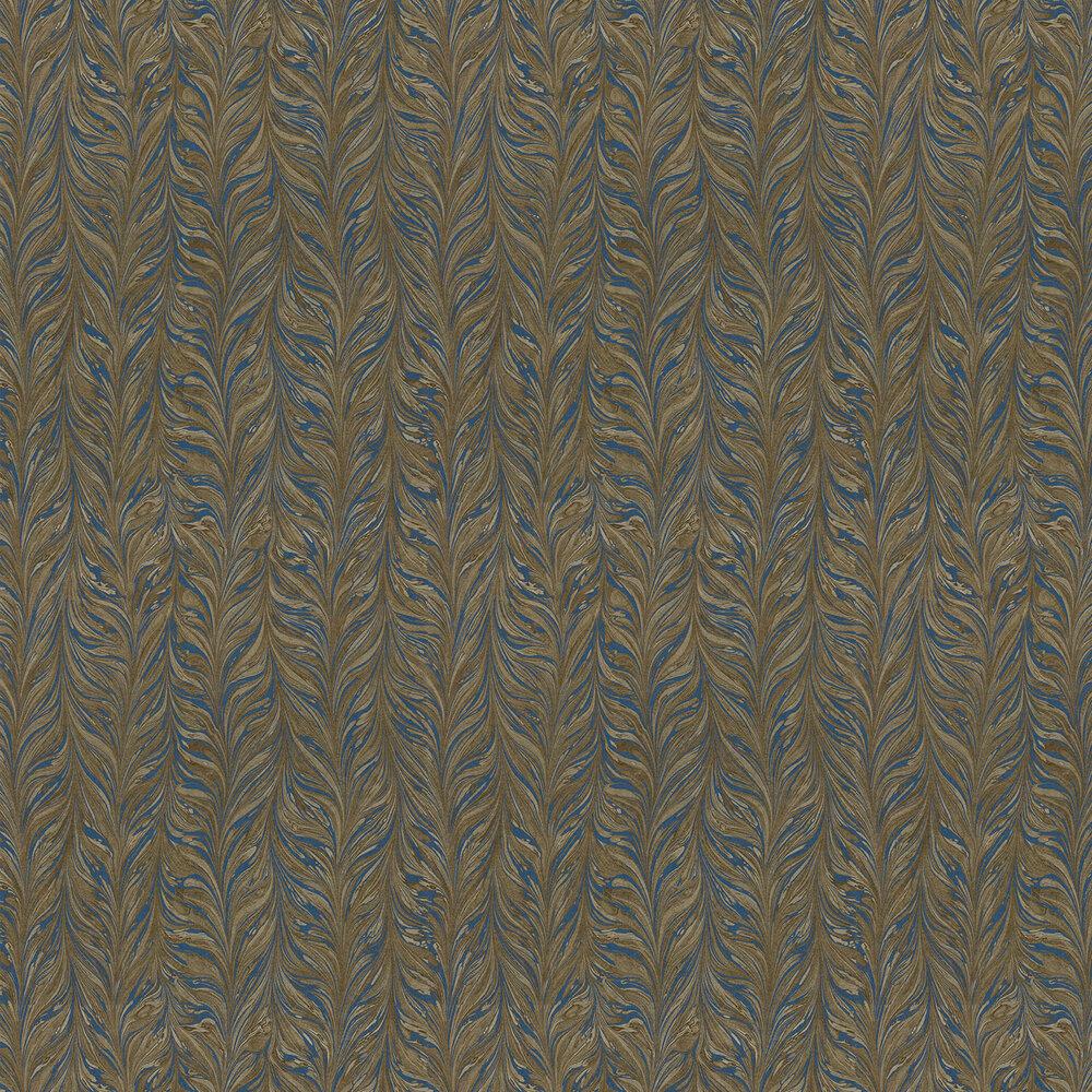 Zoffany Ebru Brown / Blue Wallpaper - Product code: 311009