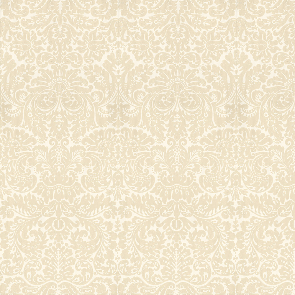 Silvergate By Farrow Ball Light Gold Beige Wallpaper