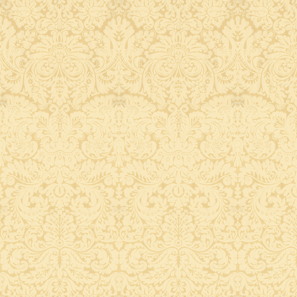 Silvergate Wallpaper - Yellow - by Farrow & Ball