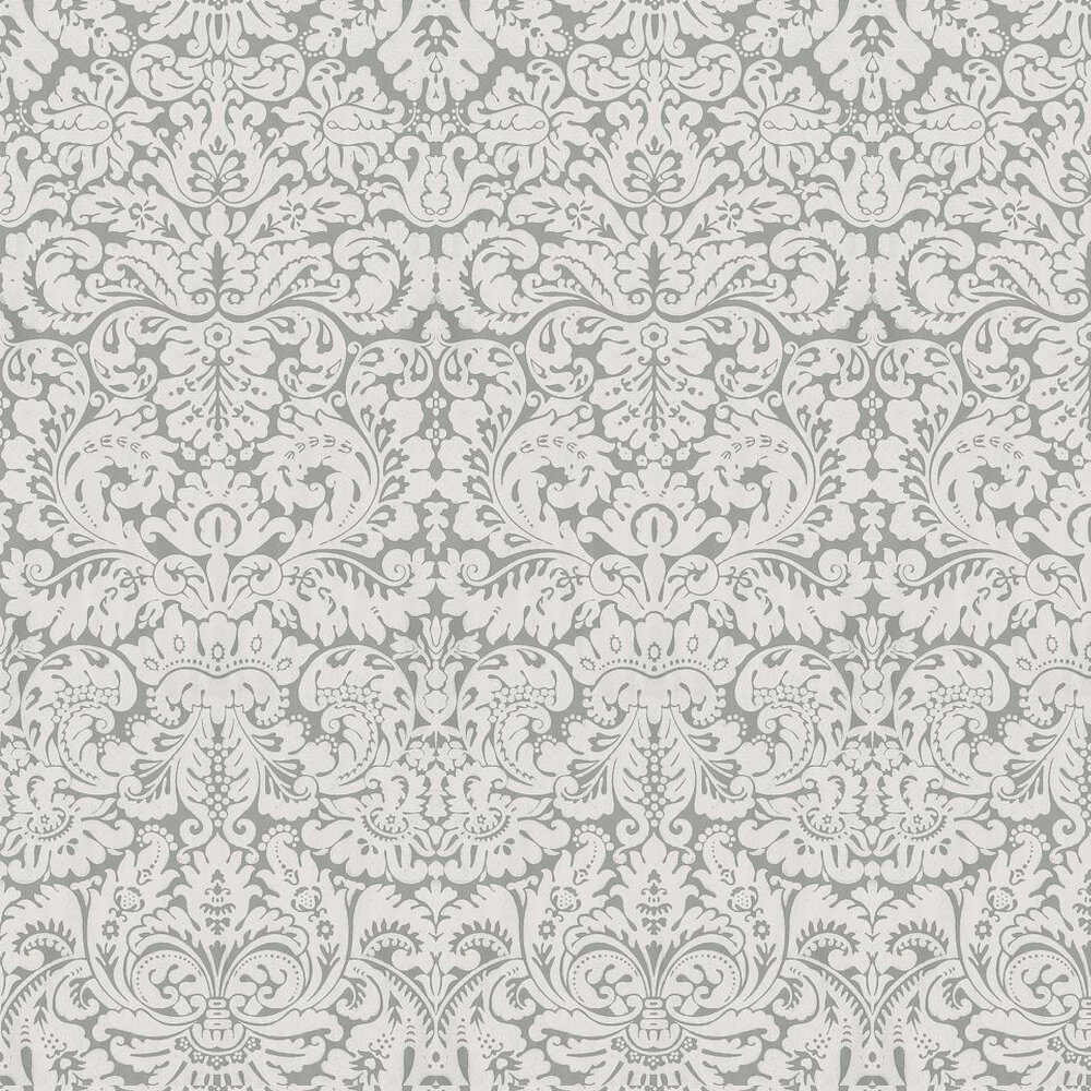 Silvergate Wallpaper - Grey - by Farrow & Ball