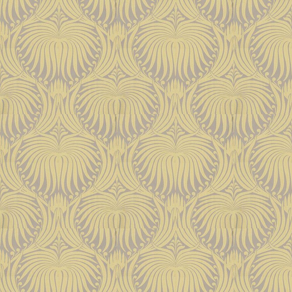 Farrow & Ball Lotus Yellow / Taupe Wallpaper - Product code: BP 2047