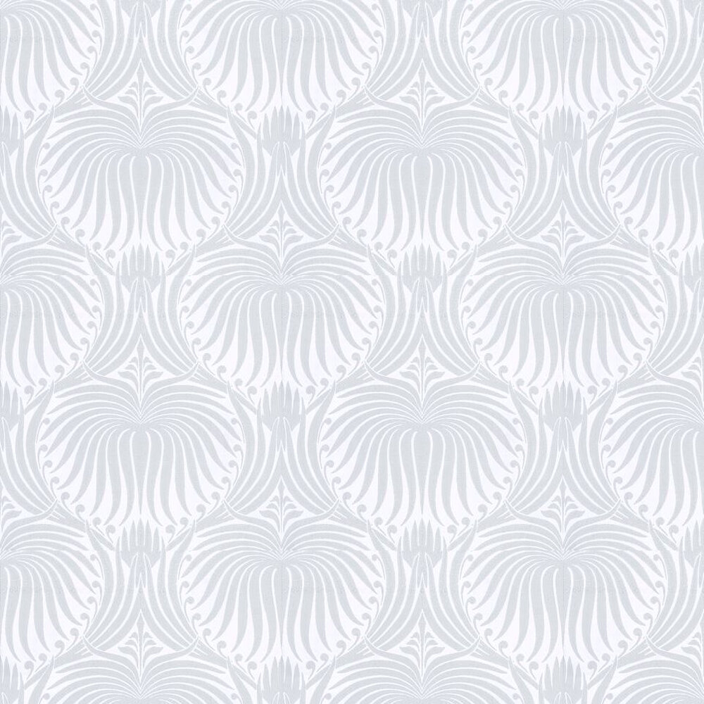 Lotus Wallpaper - Duck Egg - by Farrow & Ball