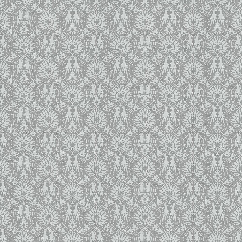 Renaissance Wallpaper - Pale Blue / Grey - by Farrow & Ball