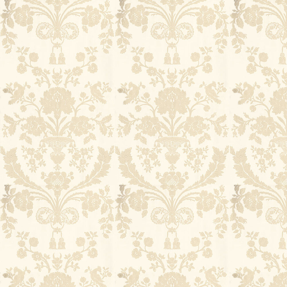 St Antoine Wallpaper - Light Beige / Cream - by Farrow & Ball