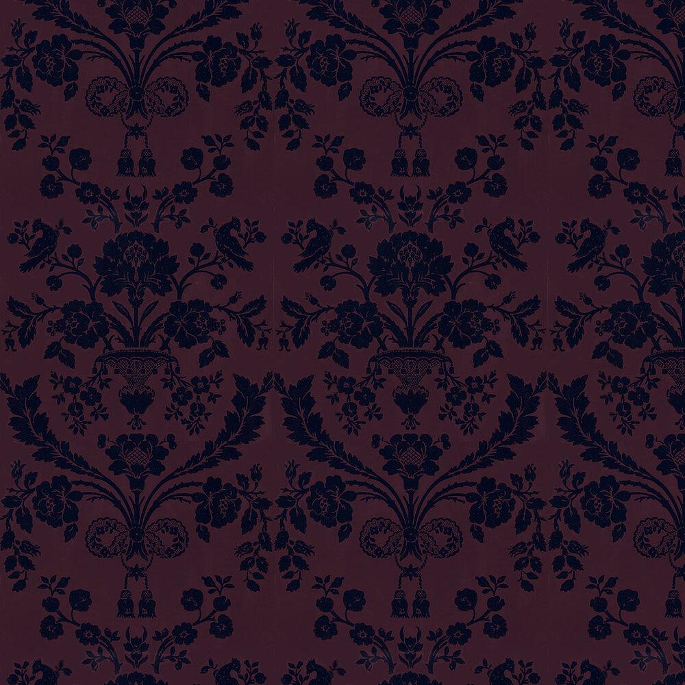 Farrow & Ball St Antoine White / Sky Blue Wallpaper - Product code: BP 946