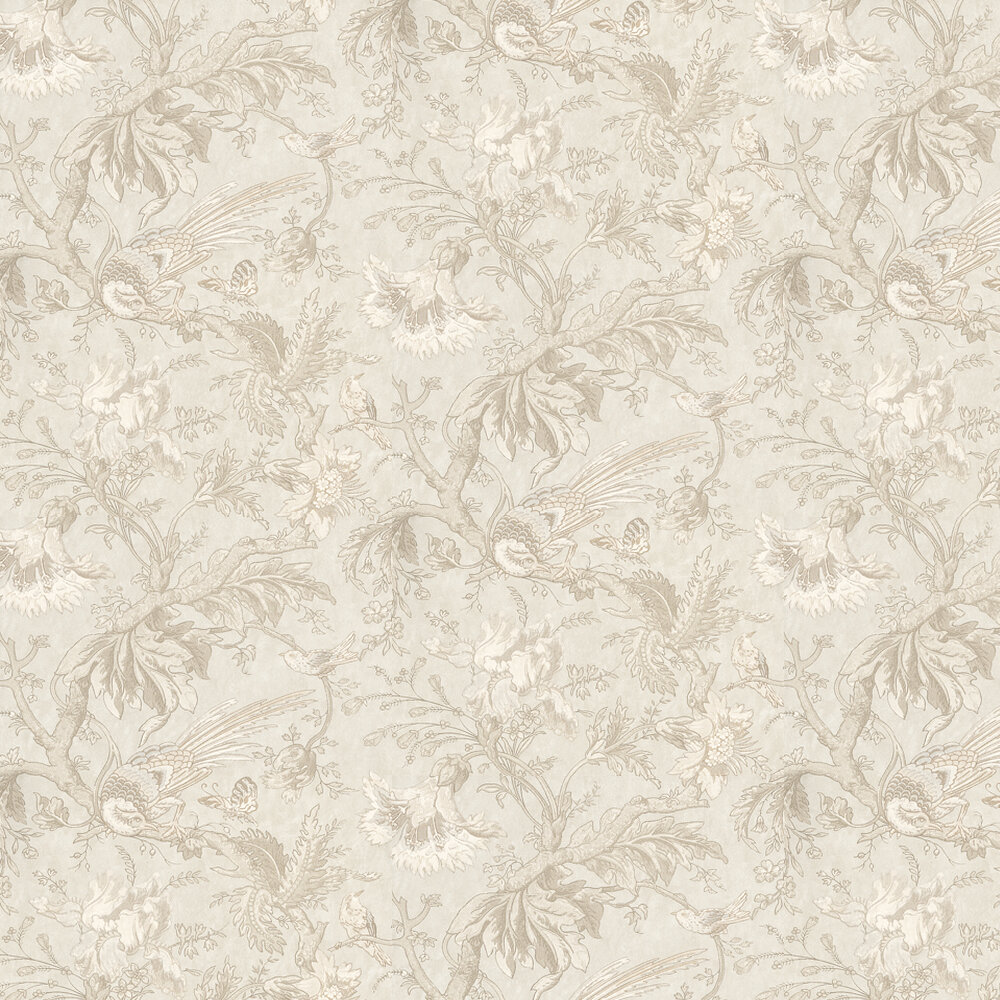 Little Greene Crowe Hall Lane Talcum Cream / Grey Wallpaper - Product code: 0282CWTALCU