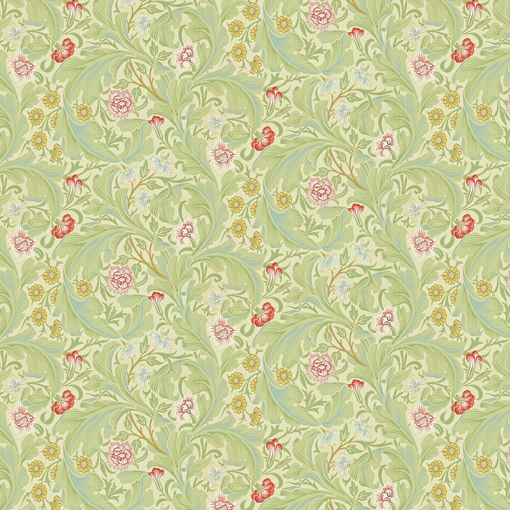 Leicester By Morris Green Multi Wallpaper 212543