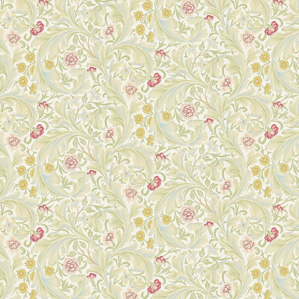 Morris Leicester Pale Green / Multi Wallpaper - Product code: 212544