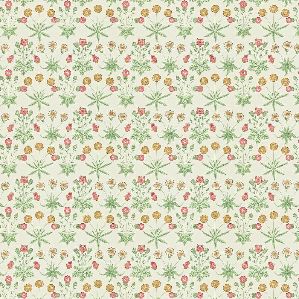 Morris Daisy Pink / Yellow / Green Wallpaper - Product code: 212562