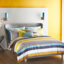 Bali Stripe Charcoal Bedding