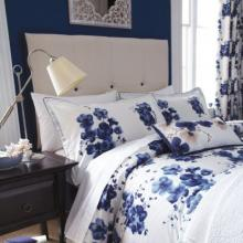 Sanderson Mandarin Flowers Duvet Cover Collection