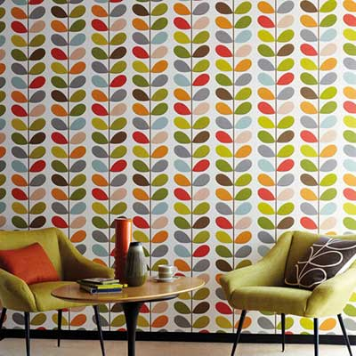 orla kiely wallpapers wallpaper direct. Black Bedroom Furniture Sets. Home Design Ideas