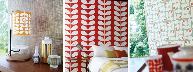 Orla Kiely Wallpaper Collection