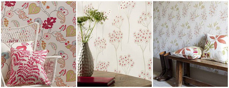 Clarke & Clarke Wild Garden Wallpaper Collection