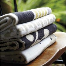 Block Stripe Towels