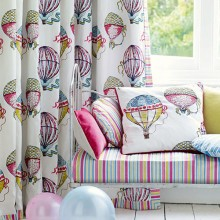 Sanderson Beautiful Balloons Fabric Collection