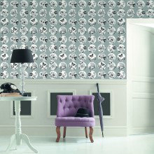 Caselio Black & White Wallpaper Collection