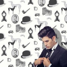 Opus Muras Gentlemans Relish Wallpaper Collection
