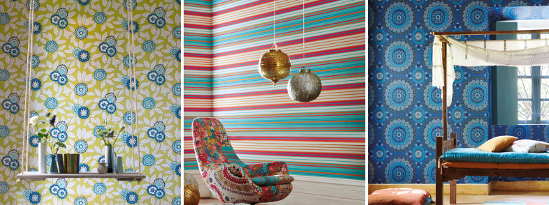 Harlequin Jardin Boheme Wallpaper Collection