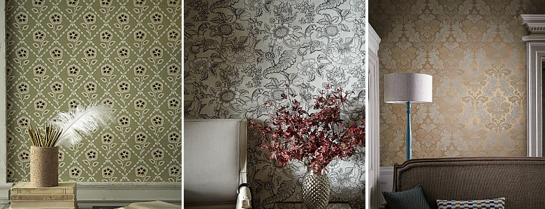 Little Greene Revolution Papers Wallpaper Collection