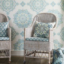 Baker Lifestyle Echo Indienne Wallpaper Collection