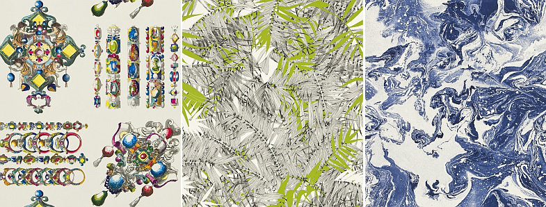 Christian Lacroix Belle Rives Wallpaper Collection