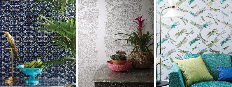 Matthew Williamson - Samana Wallpaper Collection