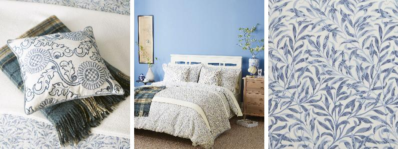 Morris Willow Bough Bedding Collection Wallpaper Direct