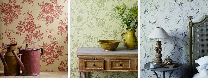 Sanderson Fabienne Wallpapers  Collection