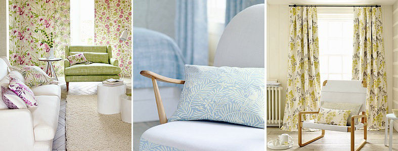 Sanderson Home Chika Prints Fabric Collection