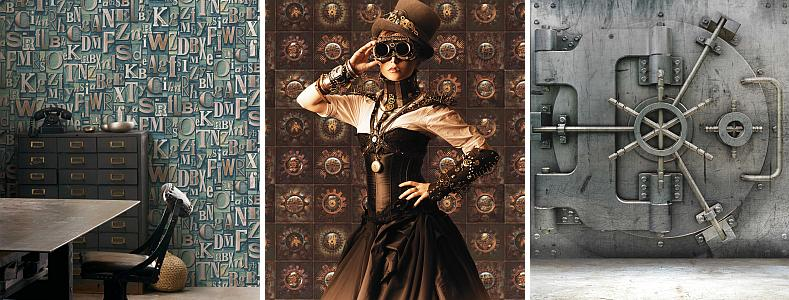 Galerie Steampunk Wallpaper Collection
