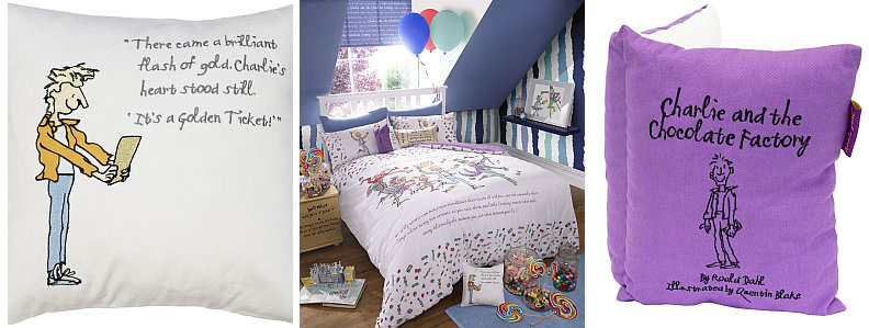 Roald Dahl Charlie and The Chocolate Factory Bedding Sets Collection