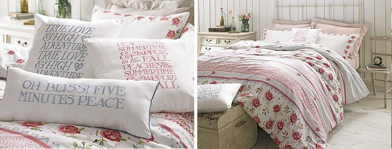 emma bridgewater rose and bee bedding collection. Black Bedroom Furniture Sets. Home Design Ideas