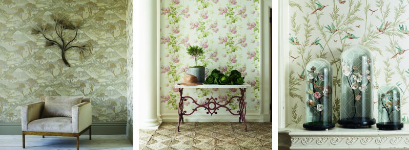G P & J Baker Langdale Wallpaper Collection