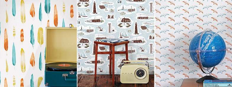 Mini Moderns Hinterland Wallpaper Collection