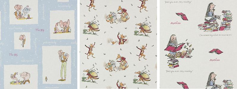 Roald Dahl Fantabulous Fabric Collection