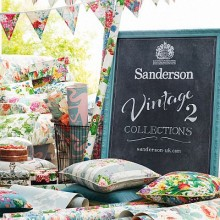 Sanderson Vintage 2 Fabric Collection