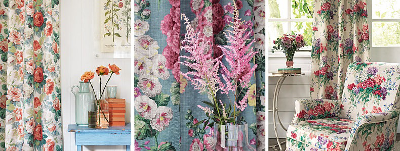 Sanderson Vintage 2 Fabrics  Collection