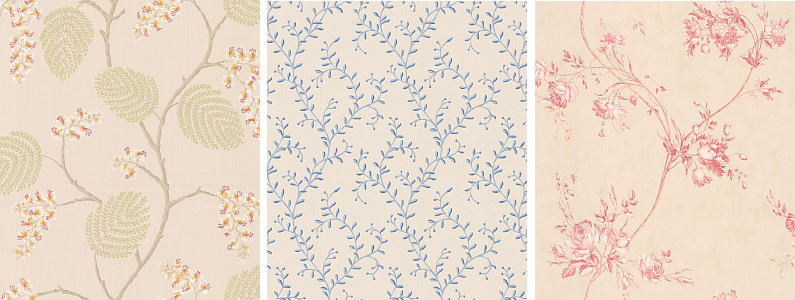 Colefax and Fowler Celestine Wallpaper Collection