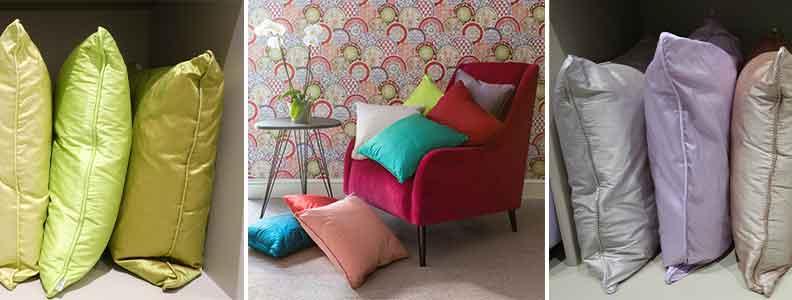 Kandola Silk Cushion Collection