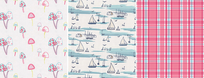Clarke & Clarke Storybook Fabric Collection