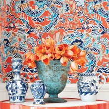 Thibaut Imperial Garden Wallpaper Collection