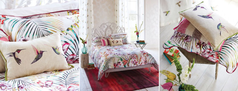 Harlequin Paradise Flamingo Bedding Collection Wallpaper