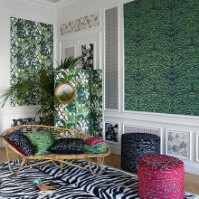 Christian Lacroix Nouveau Mondes Wallpaper Collection