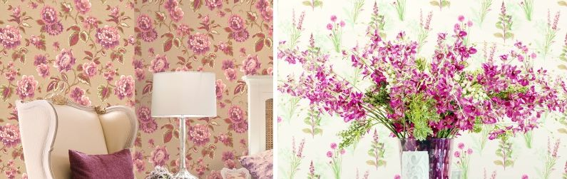 Galerie Abby Rose 3 Wallpaper Collection