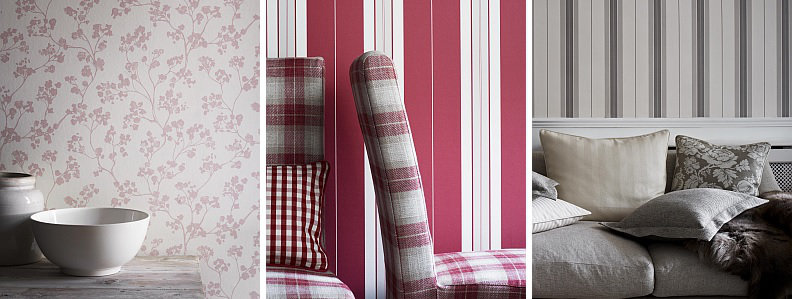 Ian Mankin Imperial Wallcoverings Wallpaper Collection